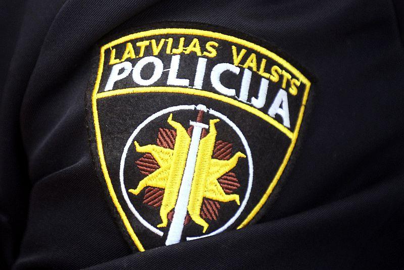 Valsts policijas emblēma.