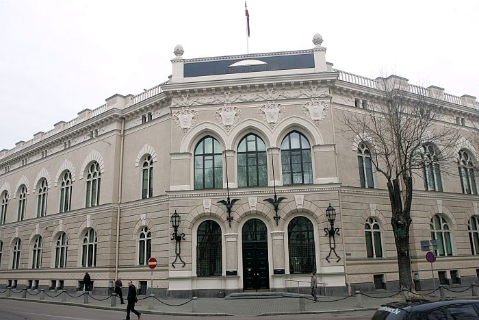 Latvijas Bankas ēka.