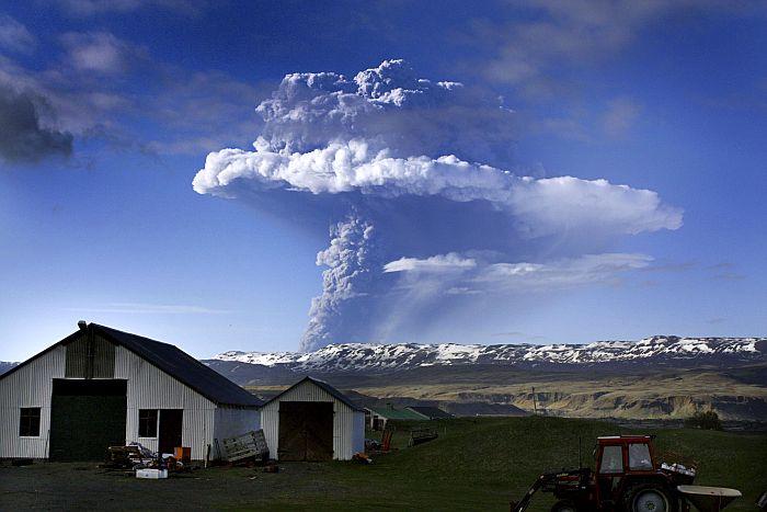 Grimsvotnas vulkāna izvirdums 2011. gadā ir tikai bāla atbalss no katastrofas, kas nelielo salu piemeklēja 938. gadā.