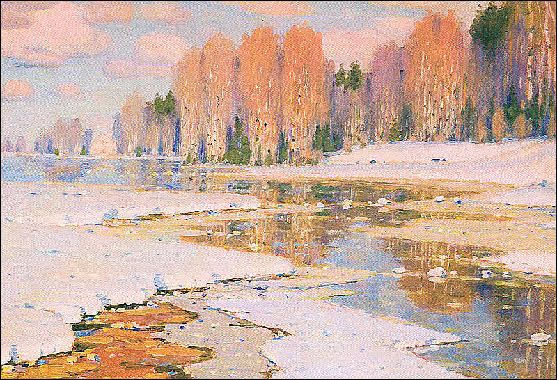 Klasiska Vilhelma Purvīša glezna.