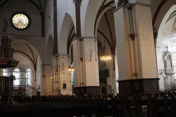 Rīgas Doma baznīcas centrālais joms.