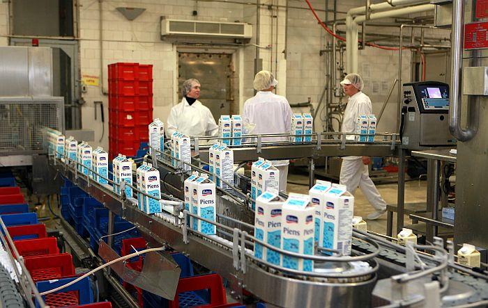 """AS """"Tukuma piens"""" ražotne."""