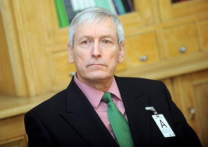 Bijušais Satversmes aizsardzības biroja vadītājs Jānis Kažociņš.