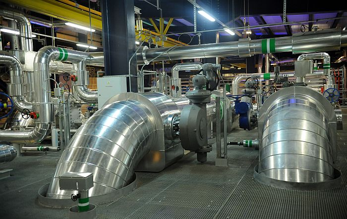 "AS ""Latvenergo"" termoelektrocentrāles TEC 2 atklātais otrais energobloks Salaspils novada Aconē."