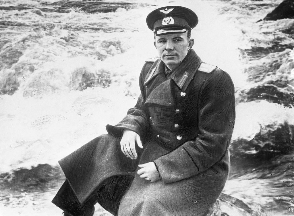 Padomju savienības varonis Jurijs Gagarins.