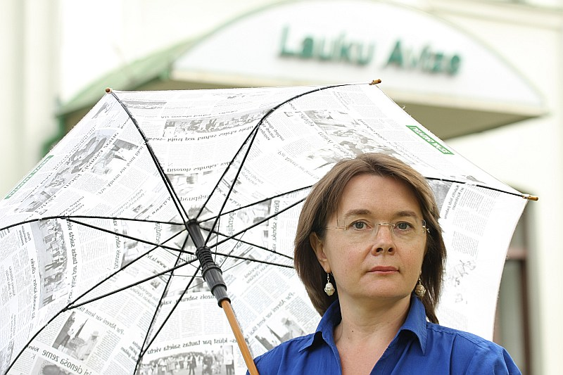 """LINDA RASA, """"LA"""" galvenā redaktore"""