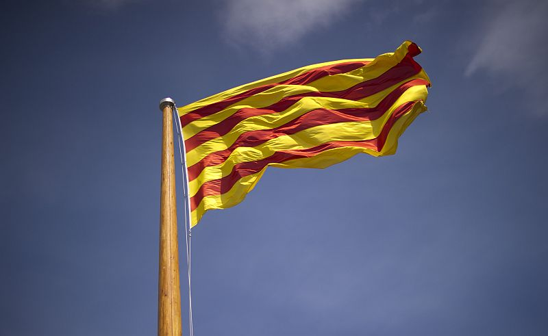 Katalonijas karogs.