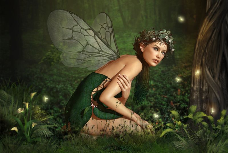 Tā cilvēki iztēlojās silfīdas un elfas