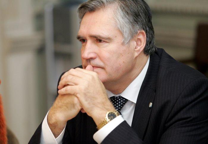 Latvijas Pašvaldību savienības priekšsēdētājs Andris Jaunsleinis.