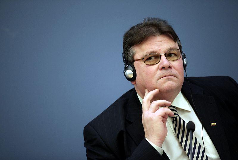 Lietuvas ārlietu ministrs Lins Linkevičs