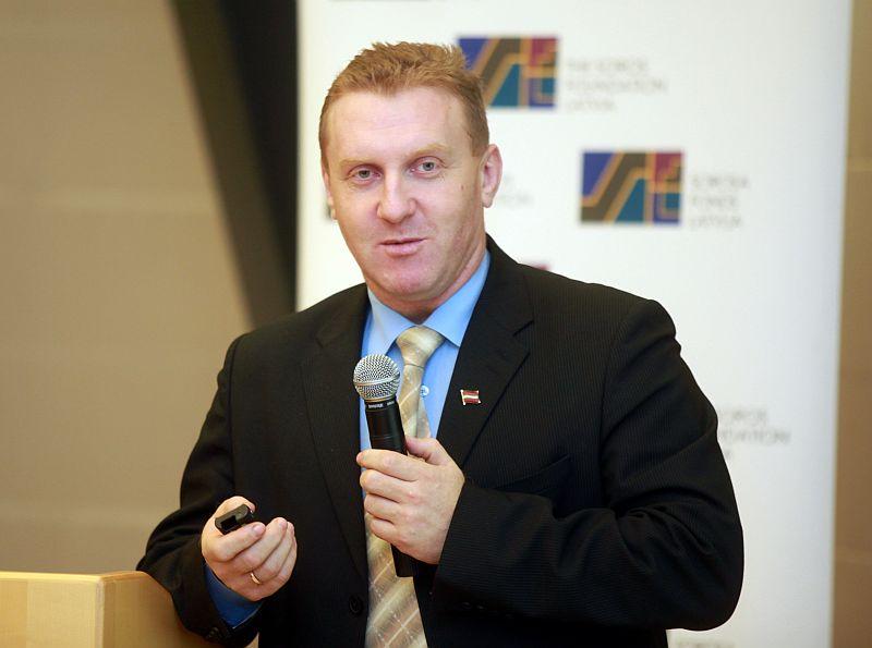 Latvijas Lauku konsultāciju un izglītības centra valdes priekšsēdētājs Mārtiņš Cimermanis