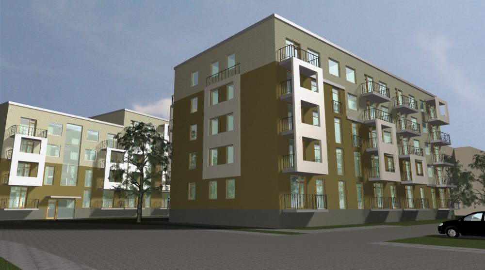 """Šogad rīdzinieki iebilda pret būvuzņēmuma """"YIT celtniecība"""" ieceri uzcelt divus piecstāvu dzīvojamos namus Eiženijas ielā 17."""
