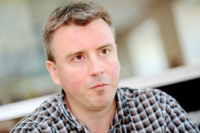 Latvijas Mednieku savienības valdes priekšsēdētājs Jānis Baumanis.