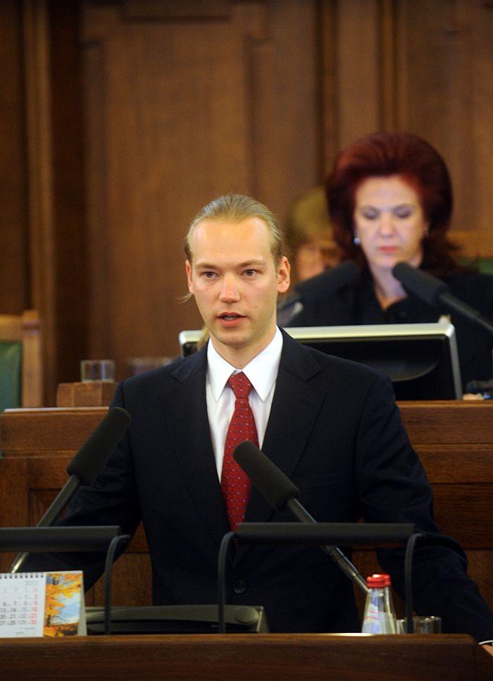 Saeimas deputāts Jānis Junkurs.