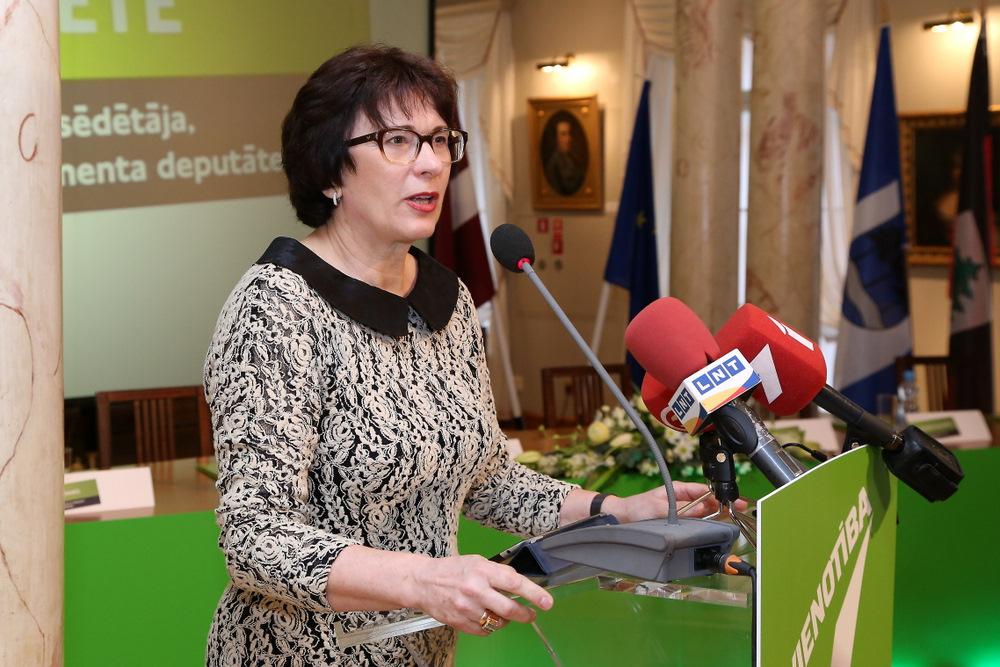 Eiropas Parlamenta deputāte Sandra Kalniete.