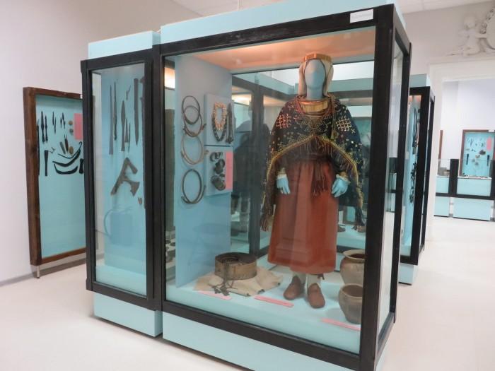Jaunā LNVM vēstures ekspozīcija.