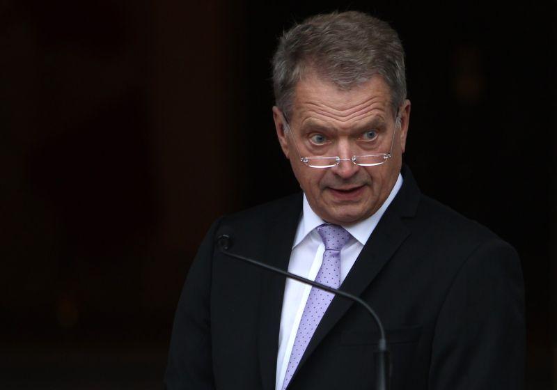 Somijas prezidents Sauli Nīniste