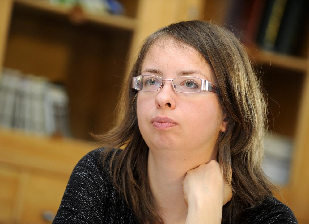 Politoloģe Iveta Kažoka.
