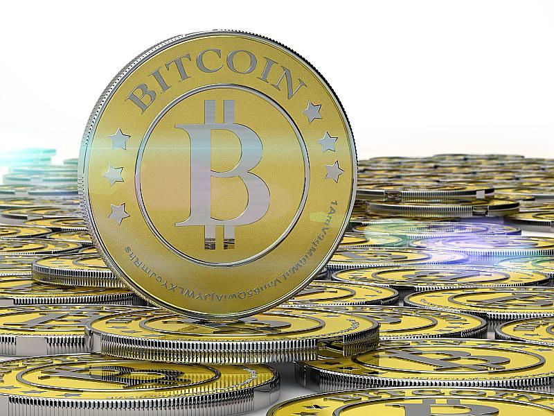 """Virtuālā nauda """"BitCoin"""" monētās nepastāv, taču tā tiek vizualizēta ar burtu B, piemērojot to ASV dolāra apzīmējumam."""