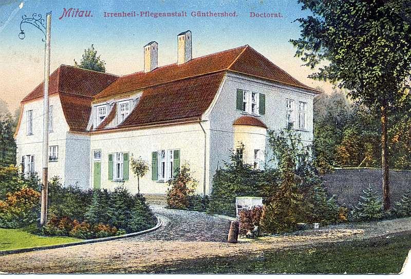 Jelgavas Ģintermuižas doktorāts 20. gs. sākumā.
