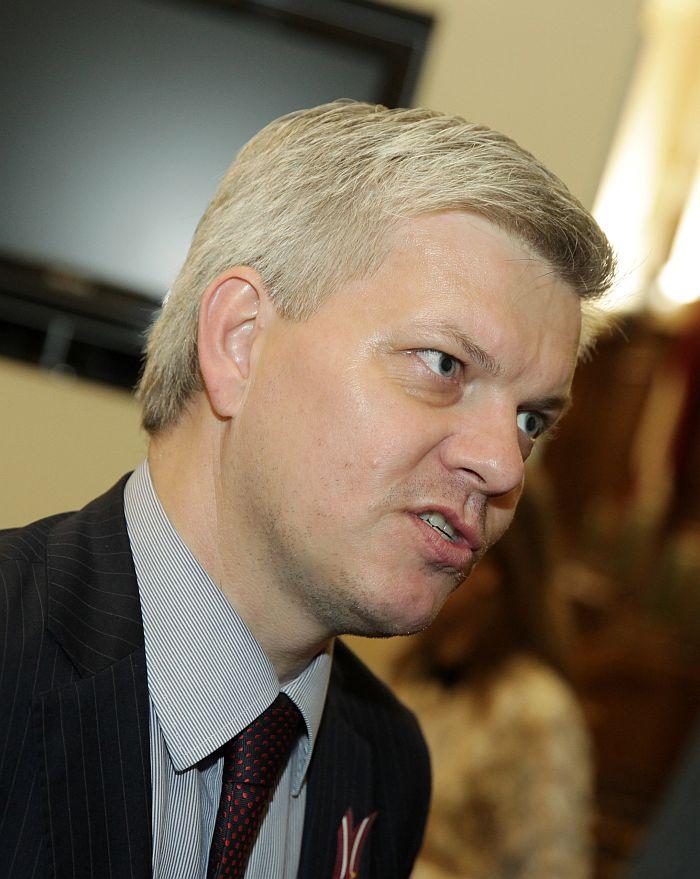 Saeimas deputāts Veiko Spolītis.