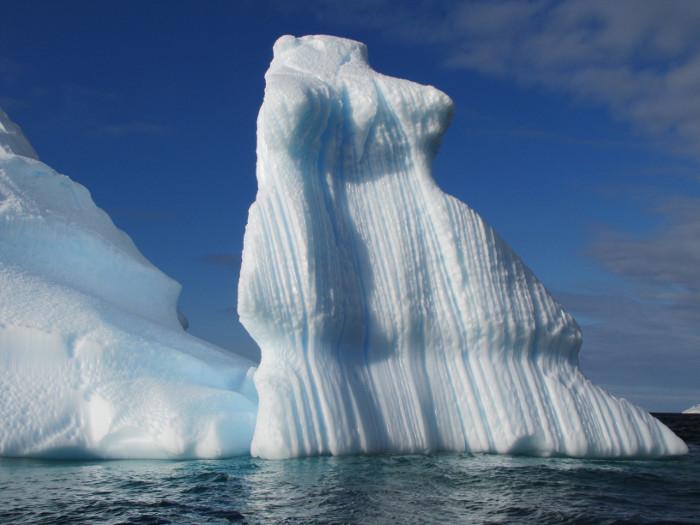 Antarktīdas krasts.