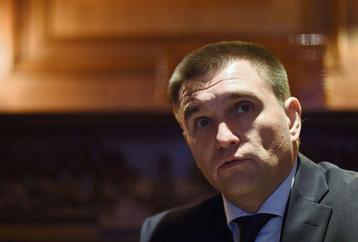 Ukraine's Foreign Minister Pavlo Klimkin.