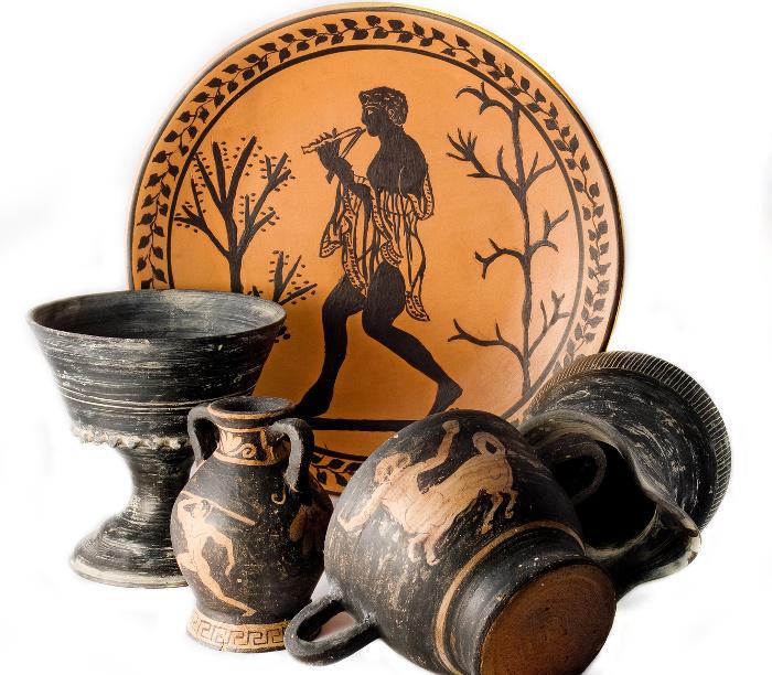 Etrusku vāzes.