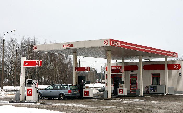 "SIA ""Lukoil Baltija R"" degvielas uzpildes stacija."