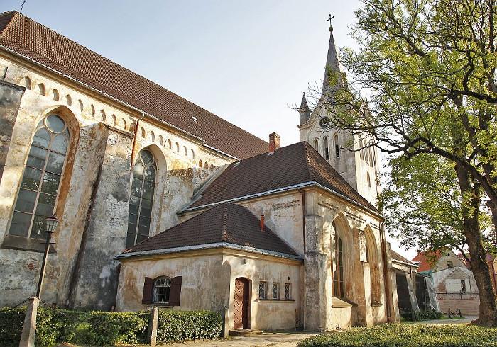 Cēsu Sv. Jāņa baznīca.