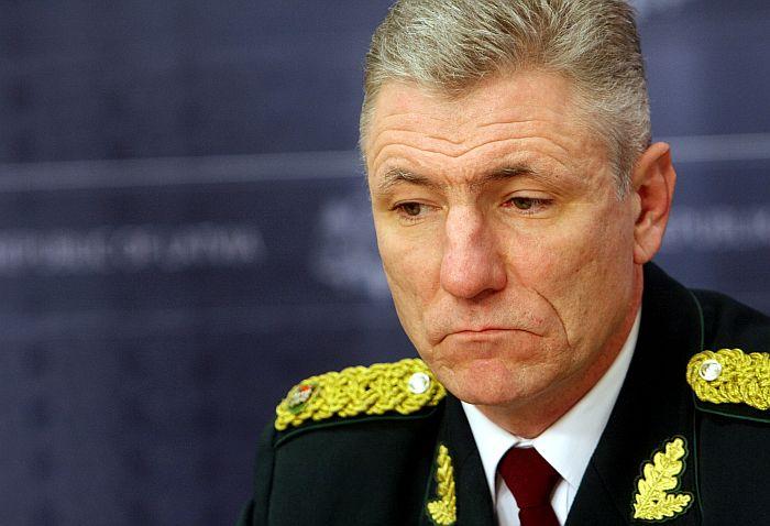 Valsts robežsardzes priekšnieks Normunds Garbars.