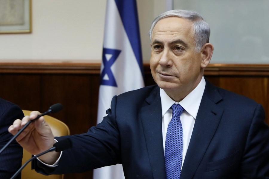Izraēlas premjerministrs Benjamins Netanjahu