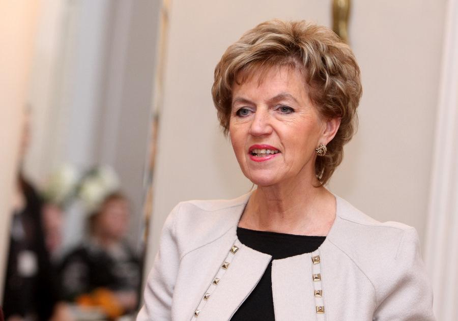 Eiropas Parlamenta deputāte Inese Vaidere.