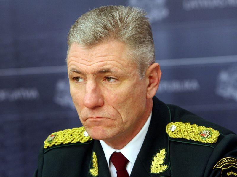 Valsts robežsardzes priekšnieks Normunds Garbars
