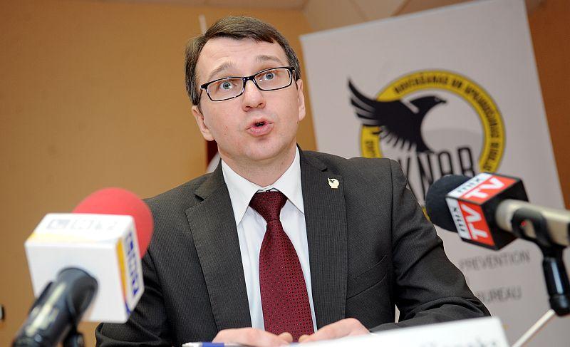 Korupcijas novēršanas un apkarošanas biroja priekšnieks Jaroslavs Streļčenoks.