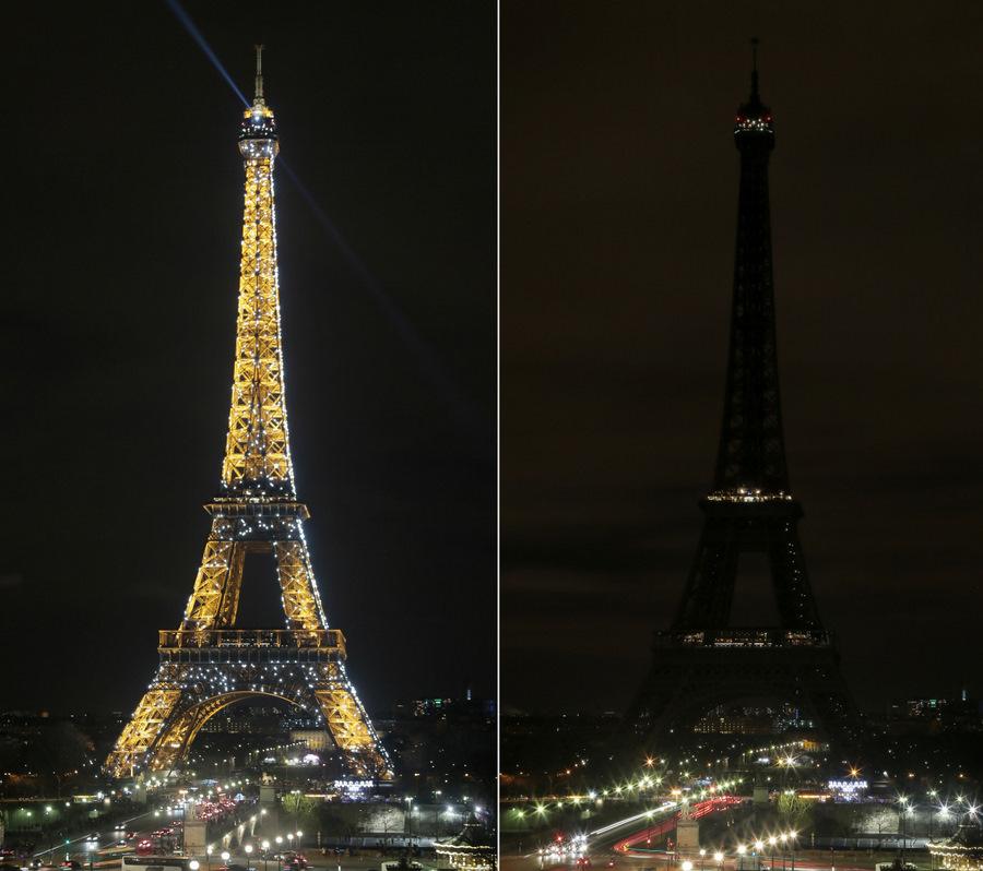 Parīze, Eifeļa tornis.