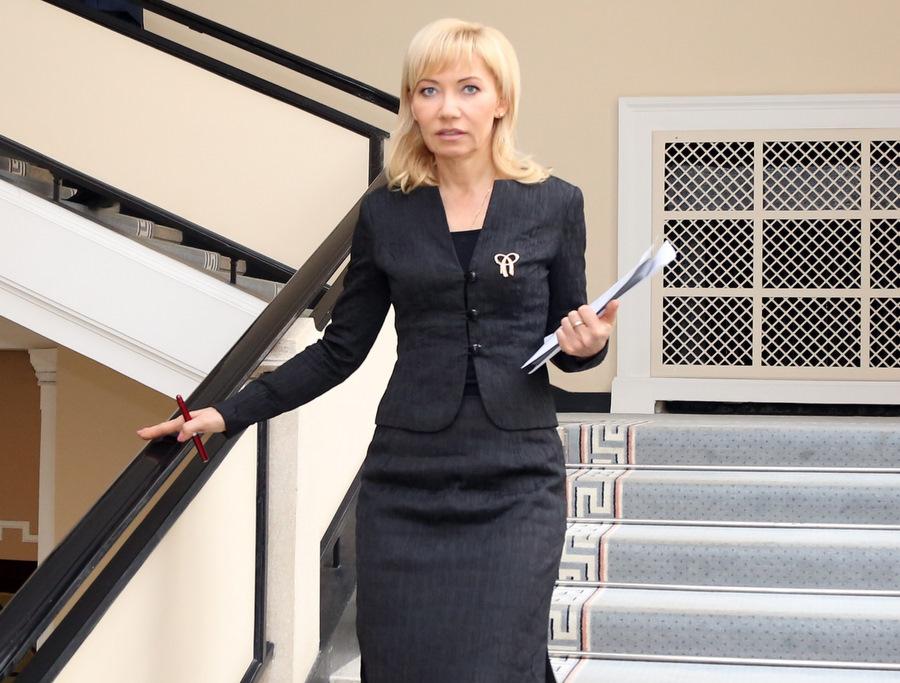 Valsts kancelejas direktore Elita Dreimane.