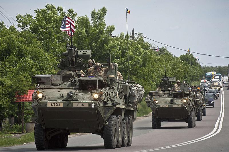 ASV pastiprinājusi savu militāro klātbūtni Austrumeiropā