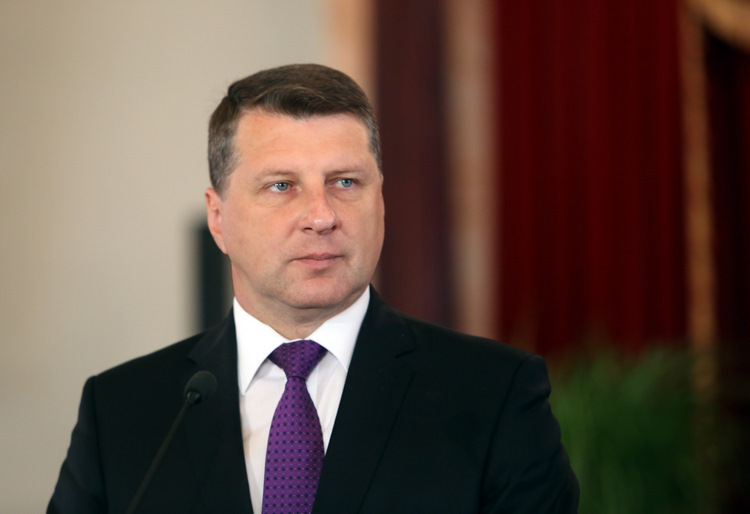 Valsts prezidents Raimonds Vējonis.