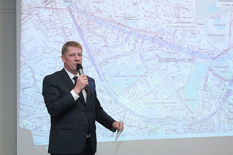 Bijušais satiksmes ministrs Anrijs Matīss.