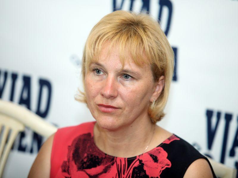 Preiļu novada domes priekšsēdētāja Maruta Plivda (LSDSP)