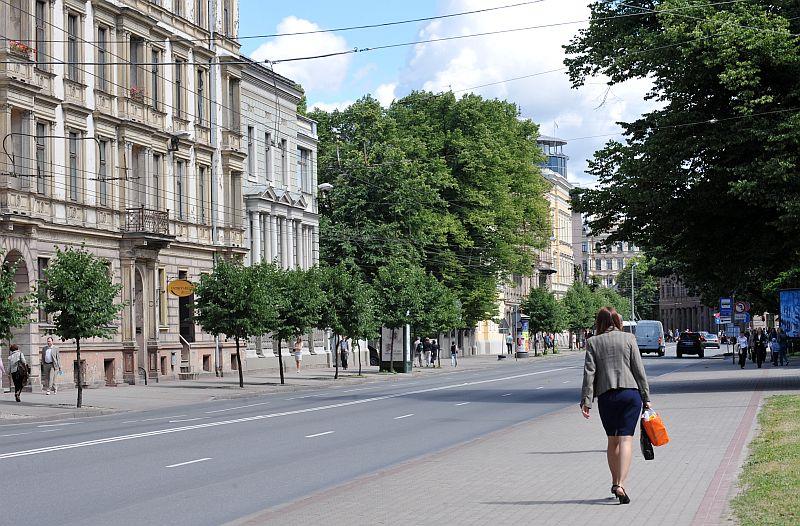 Krišjāņa Valdemāra iela.