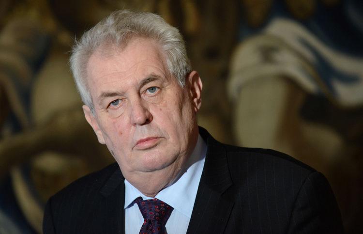 Čehijas prezidents Milošs Zemans