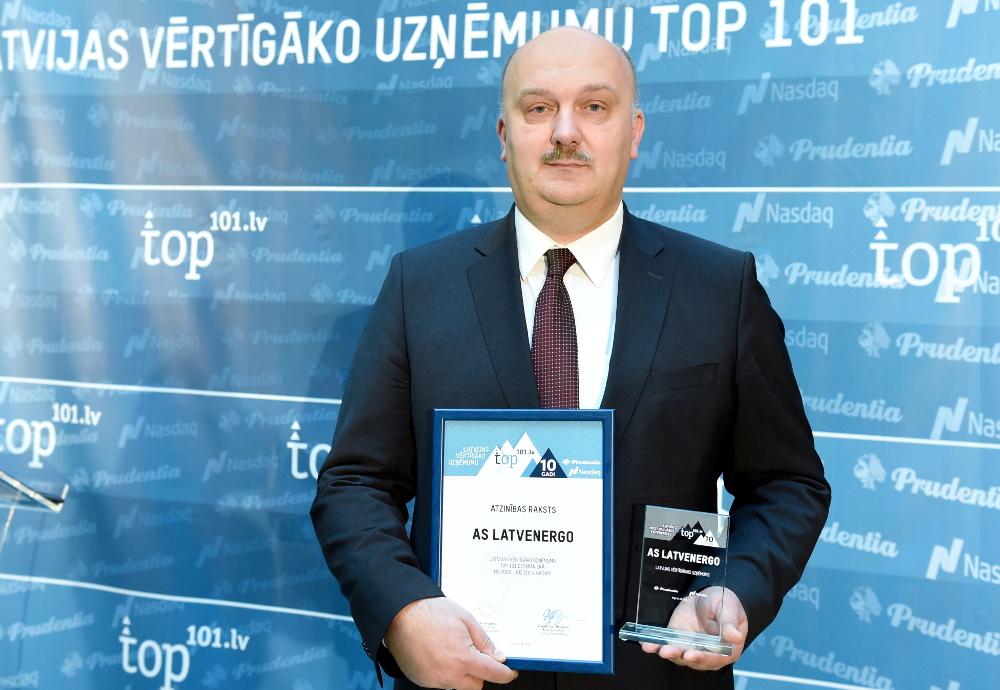 """AS """"Latvenergo"""" valdes priekšsēdētājs Āris Žīgurs."""