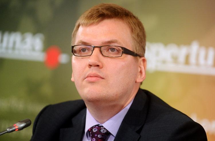 """Partijas """"Latvijas attīstībai"""" valdes priekšsēdētājs Juris Pūce."""