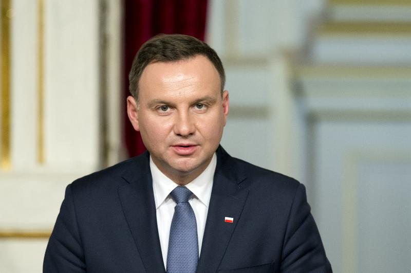 Polijas prezidents Andžejs Duda
