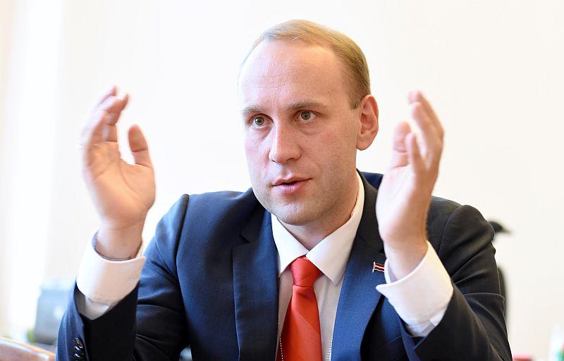 Valsts kancelejas direktors Mārtiņš Krieviņš.