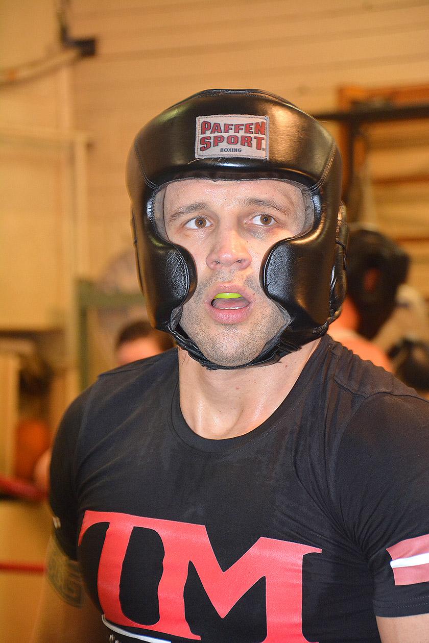 Mairis Briedis, atklātais treniņš Rīgā