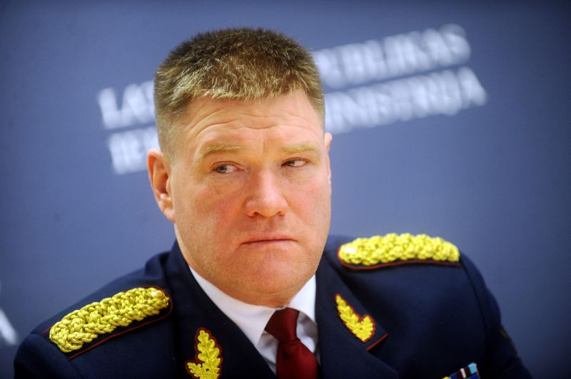Valsts policijas priekšnieks Ints Ķuzis
