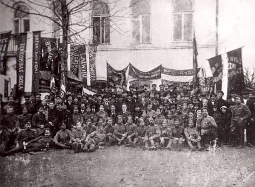 Pirmā Latgales kongresa delegāti.